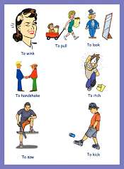 Verbs Pictures For ESL