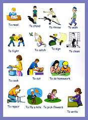 Verbs Picture Dictionary