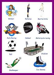 Sports Vocabulary 4