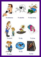 Action Verbs Pictures