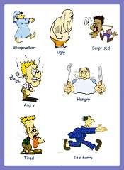 Adjectives Children Vocabulary