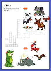 Ingilizce Hayvanlar Kelime Bulmaca 2
