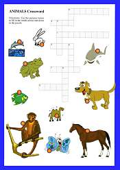 Animals Crossword