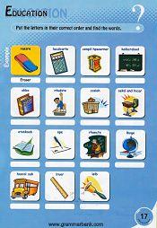 Education/Classroom Vocabulary Puzzle