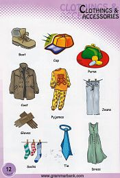 Clothing and Accessories Vocabulary 7