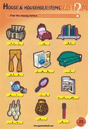 Household Items Puzzle For Kids
