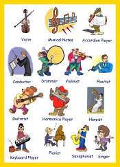 Musics Vocabulary For Kids