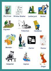 Occupations Vocabulary with pictures