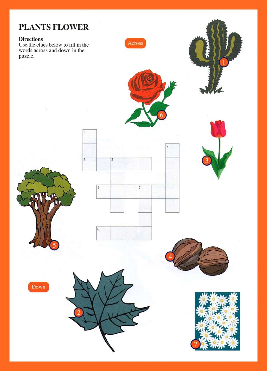 Landscaping Shrubs Crossword : Animals crossword
