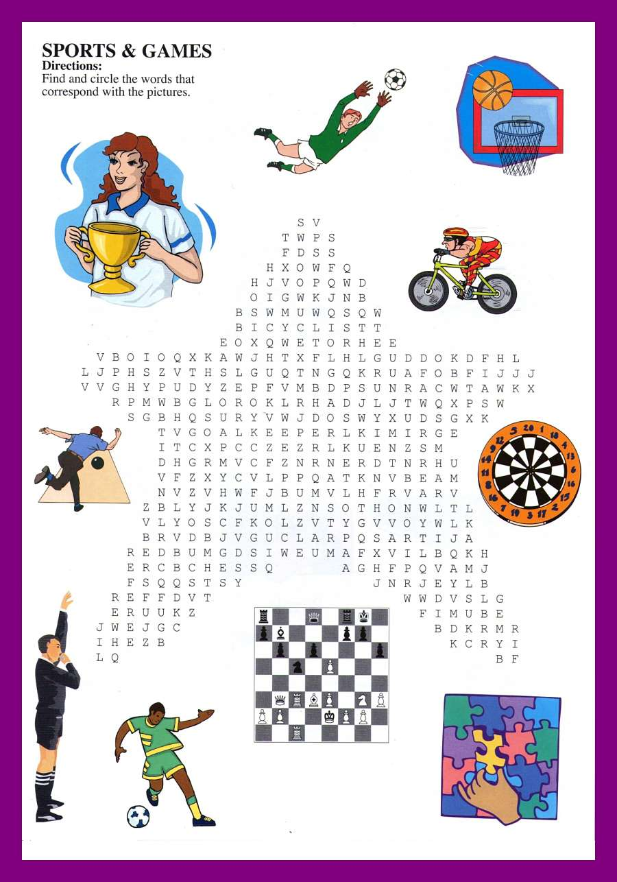 Car Word Search Games