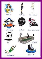 Sports Vocabulary 4