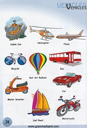 Vehicles Vocabulary 5