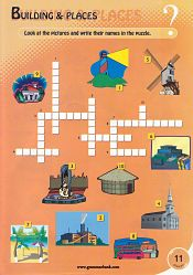 Buildings and Places Crossword For Kids