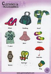 Clothing and Accessories Vocabulary 6