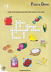 Alimentos y Bebidas Sopa de Letras Para Ninos