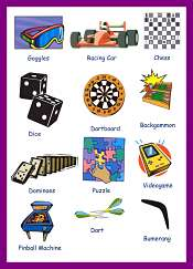 Termes des jeux et sports en Anglais