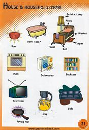 Household Items Pictionary 11