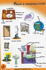 Household Items Pictionary 12