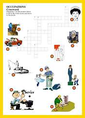 Occupations Crossword