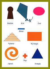 Shapes Kids Picture Vocabulary
