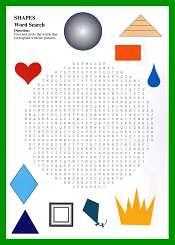 Les formes en Anglais pour enfants