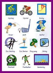 Sports Vocabulary For Kids