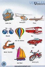 Vehicles Vocabulary 5